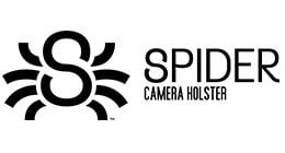 Spider Holster Compatible with DSLR and Mirrorless Cameras. Graphite SpiderPro Hand Strap v2