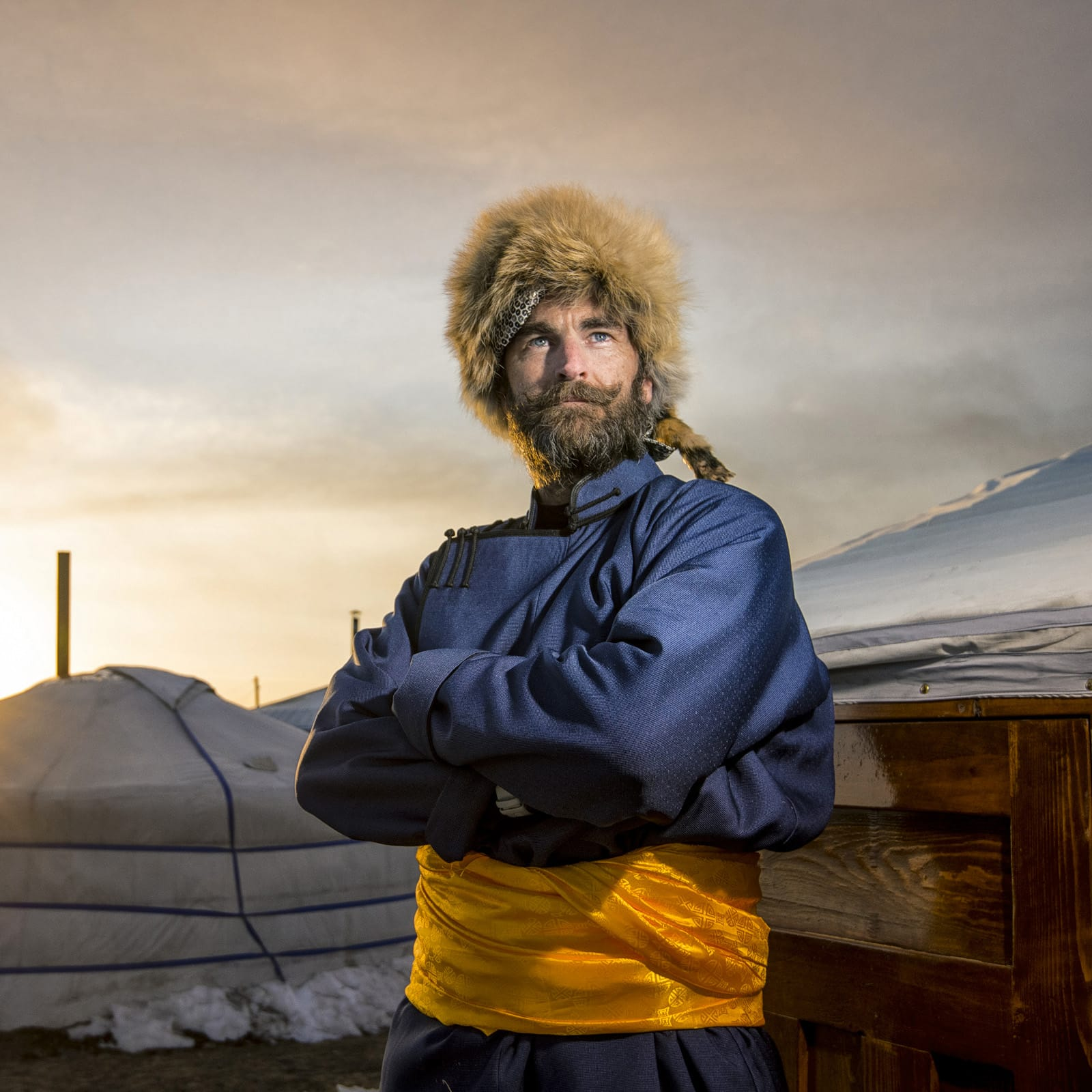 The Badger Unleashed comes face-to-face with -25c, 100-mile Ultramarathon in Mongolia